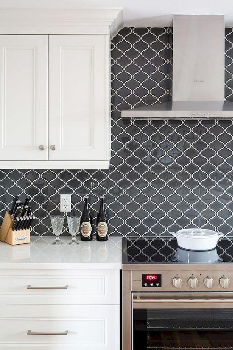 - 56+ Lovely Beautiful Kitchen Backsplash Tile Patterns Ideas