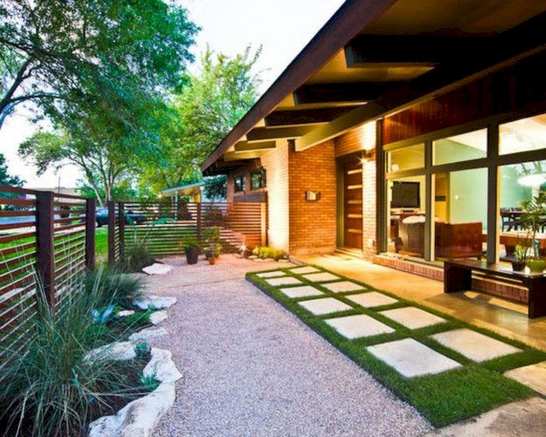 58 Beauty Low Maintenance Front Yard Landscaping Ideas