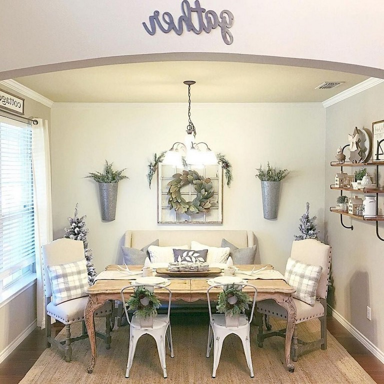 Lasting Farmhouse Dining Room Decor Ideas