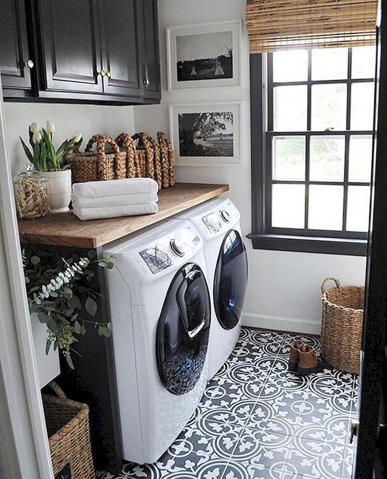95 Cool Modern Farmhouse Laundry Room Ideas Page 47 Of 97