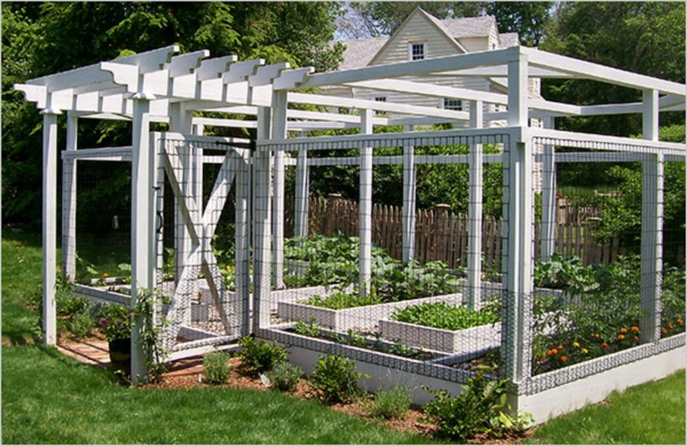 20 Amazing Vegetable Garden Fence Ideas Page 5 Of 22